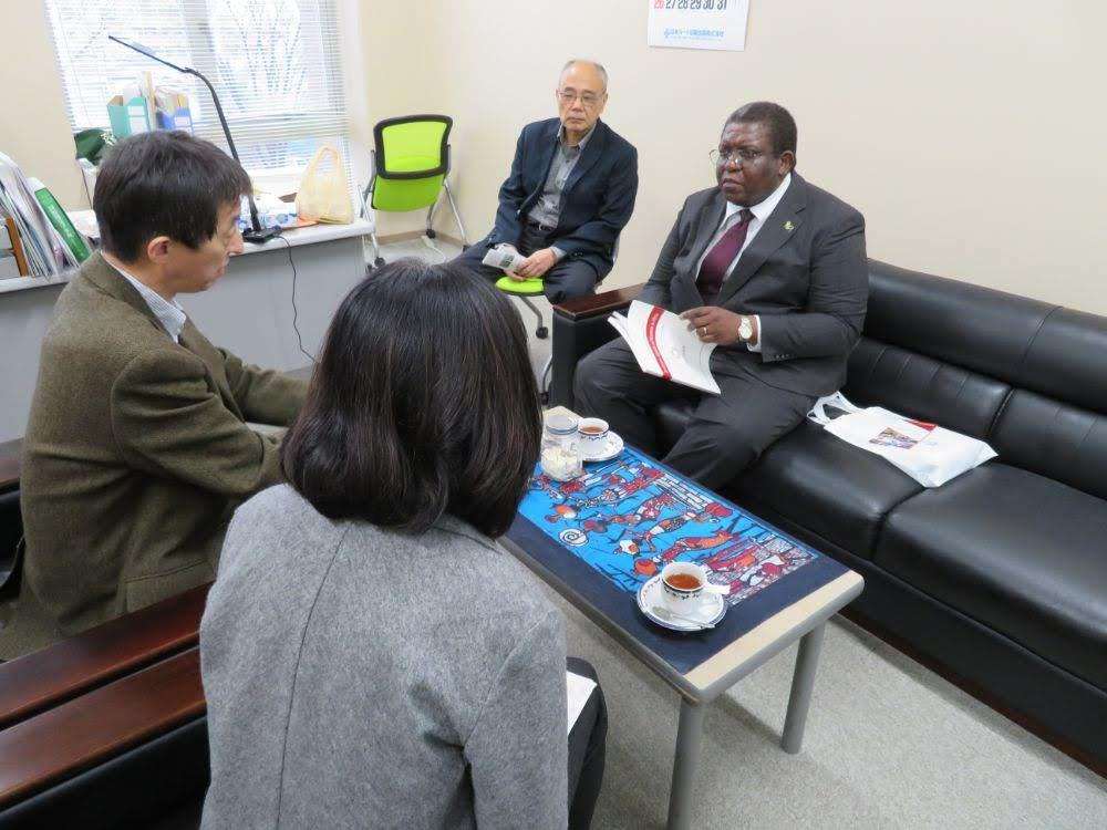 駐日タンザニア臨時代理大使来訪