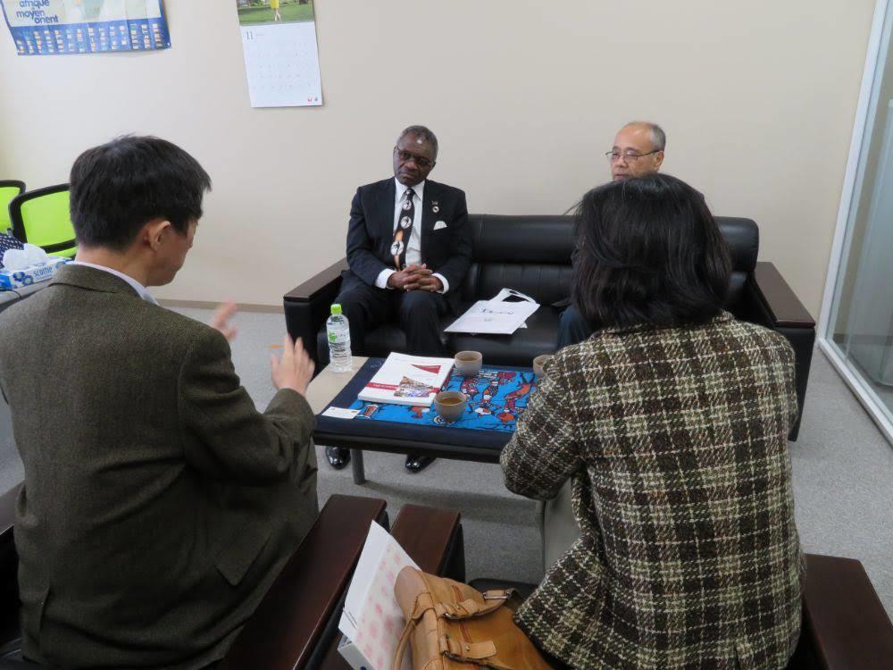 駐日マラウイ公使来訪