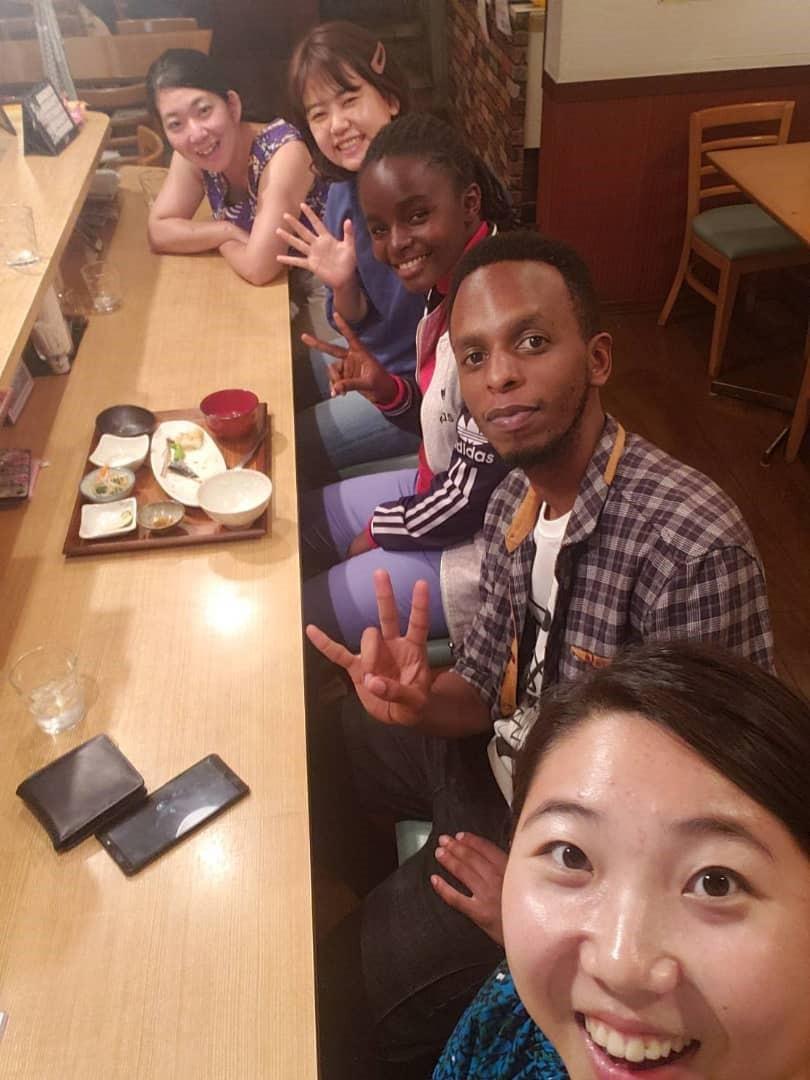 ルワンダのヘレンとオクタブから日本滞在記が届きました。