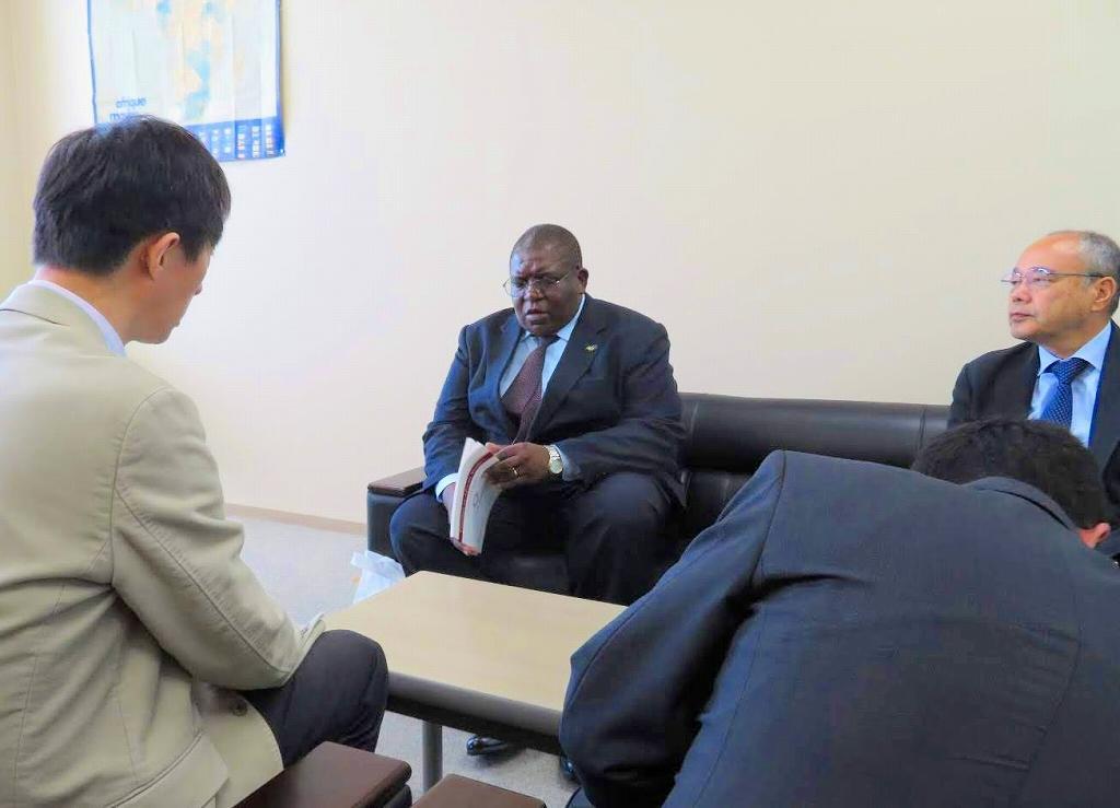 駐日タンザニア全権公使来訪