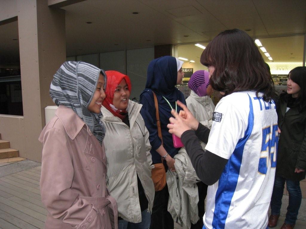 マレーシア人学生訪問団(JENESYS)との交流会(写真)